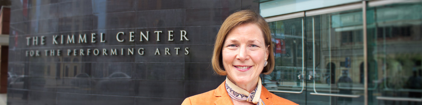 Anne Ewers, The Kimmel Center, Inc.: Discover the value of membership here »