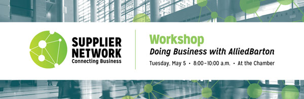Supplier Network Graduate Workshop: Doing Business with Allied Barton
