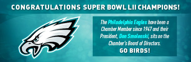Congratulations to the Philadelphia Eagles