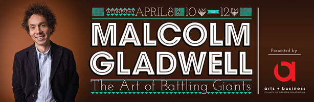 Malcolm Gladwell: The Art of Battling Giants
