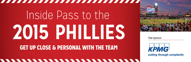 Inside Pass to the 2015 Phillies