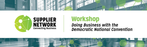 Doing Business with the Democratic National Convention