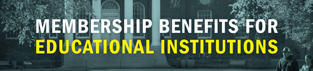 Membership Benefits for Educational Institutions