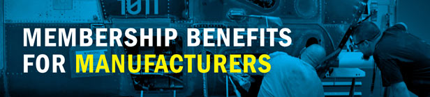 Membership Benefits for Manufacturers