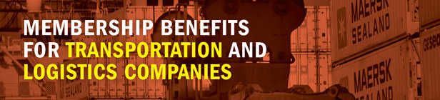 Membership Benefits for Transportation and Logistics Companies