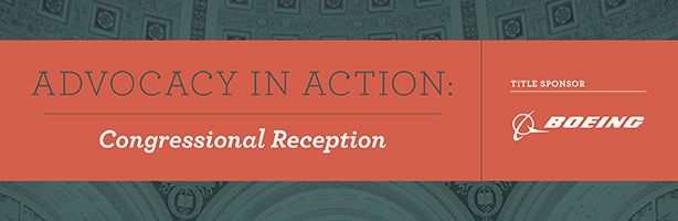 Advocacy in Action: Congressional Reception - June 1